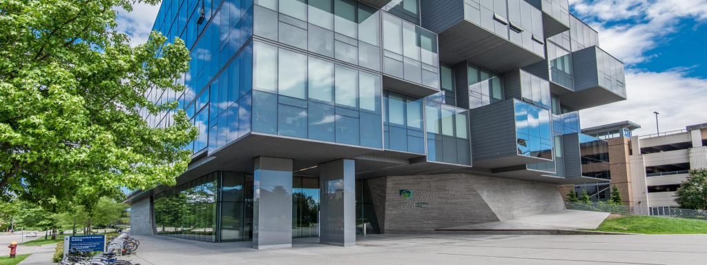 Image of Pharmaceutical Sciences Building from official UBC website